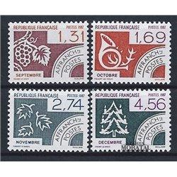 1987 France  Sc# 1961/1964  ** MNH Very Nice. 0 (Scott)