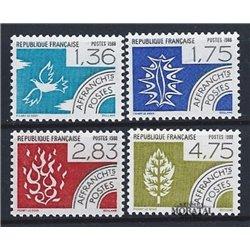 1988 France  Sc# 2101/2104  ** MNH Very Nice. 0 (Scott)