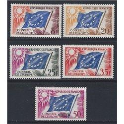 1958 Frankreich Mi# 0  * Falz Guter Zustand. 0 (Michel)
