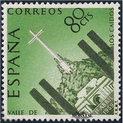 1959 Spain  Sc 903 Valley Memorial Tourism *MH Nice, Mint Hinged  (Scott)