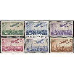 1936 France  Sc# C8/C13  (*) MNG Nice. 0 (Scott)