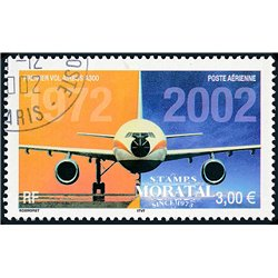 2002 France  Sc# C64  (o) Used, Nice. Airbus A-300 (Scott)