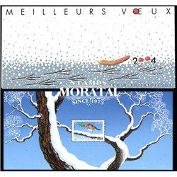 2003 Frankreich Mi# BL 35  ** Perfekter Zustand. Europäischer Robin (Michel)